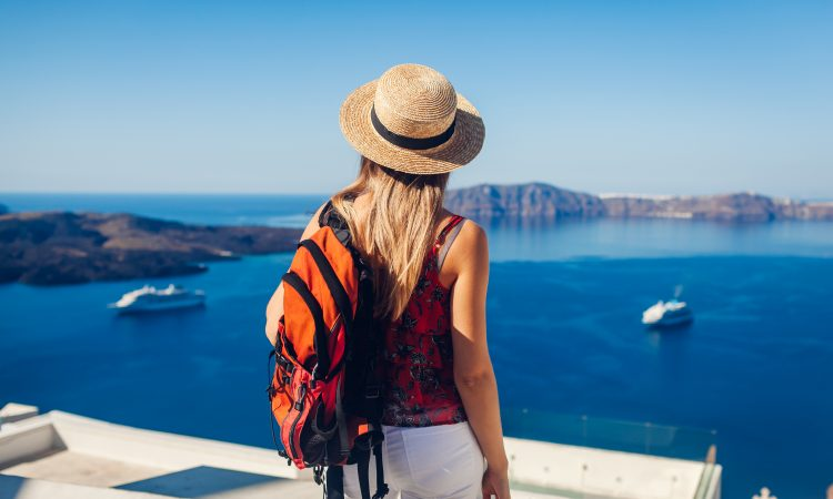 hiking experience in santorini greece