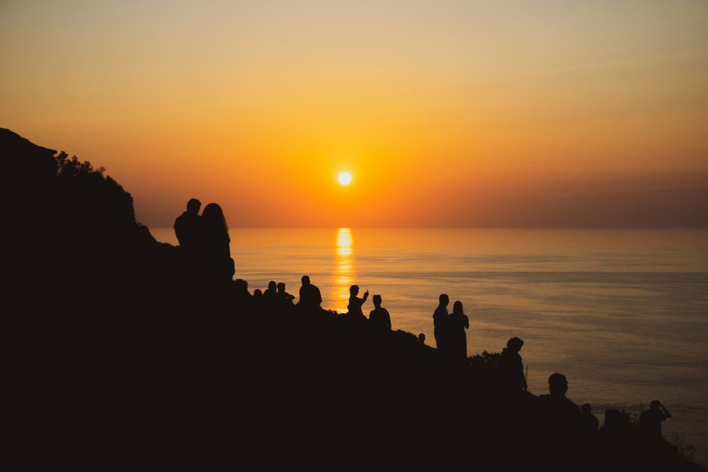 Sunset at Akrotiri